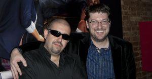 Con Randy Pitchford en la presentación oficial de Duke Nukem Forever en Barcelona.