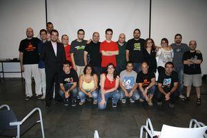 Equipo participante del programa 468, final de la 12ª temporada.