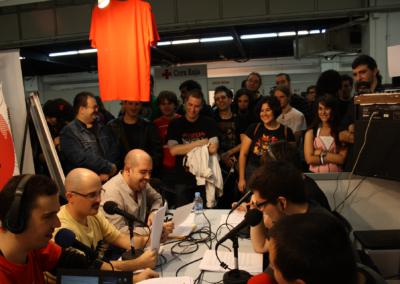 Programa de Game Over que tuvo lugar en el Salón del Manga de Barcelona.