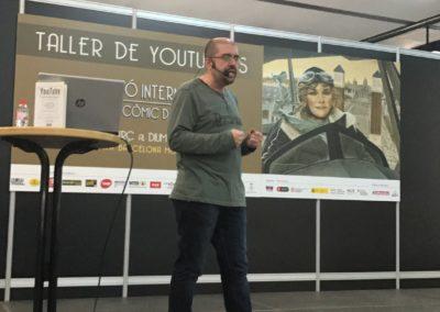 """Charla """"La historia de Nintendo"""" durante el Salón del Manga de Barcelona."""