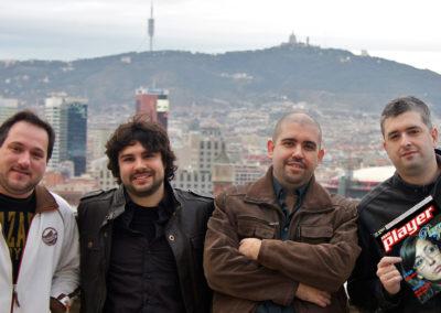 Foto oficial de presentación del programa Marca Player FM, para Radio Marca.